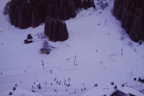 Drouzin le Mont nursery slope